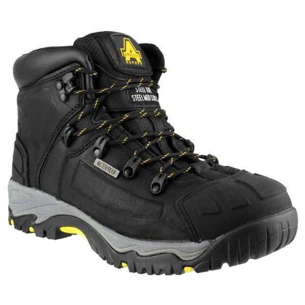 Amblers Safety FS32 Waterproof Safety Footwear Black